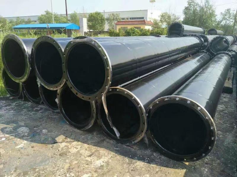 Black Plastic Coated Steel Pipe