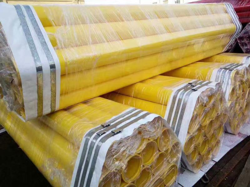Plastic Coated Pipe for Gas